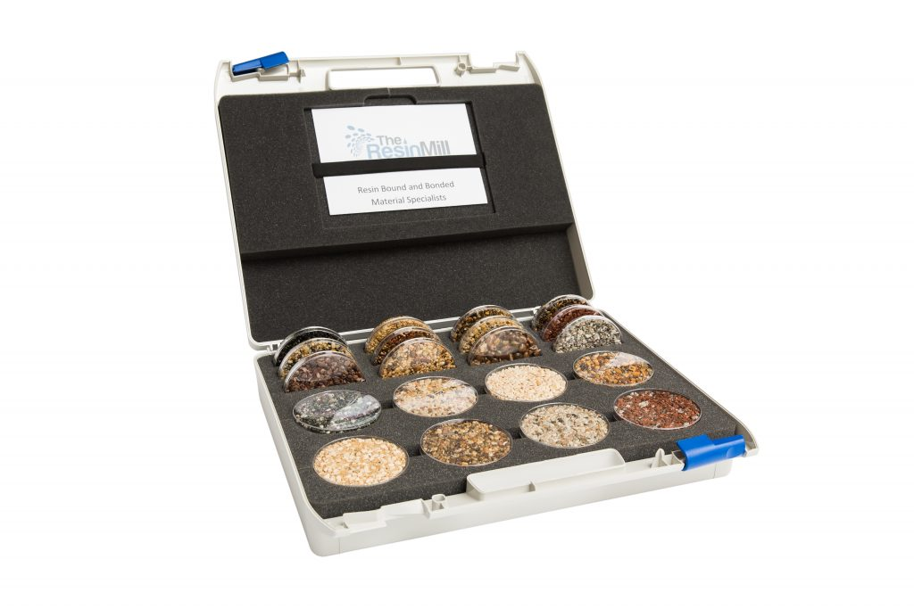 The Resin Mill Resin Bound Sample Case