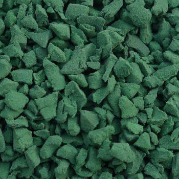 Dark Green Rubber Crumb