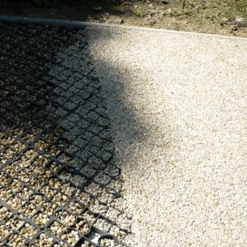 resin base installation