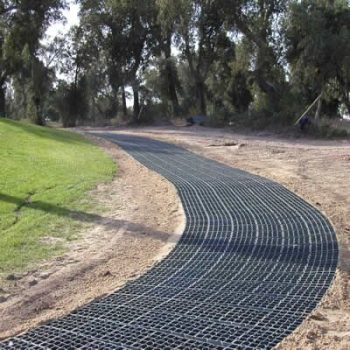 permeable paving base ecogrid