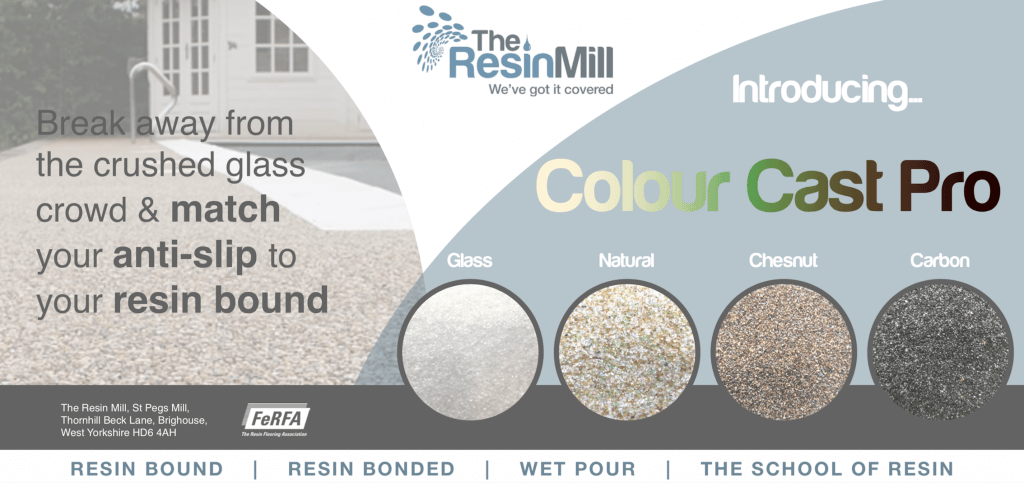 Colour Cast Pro Anti Slip For Resin Drives